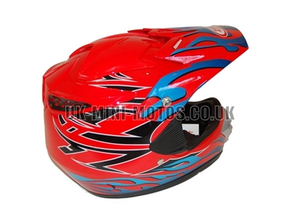 Helmets Red Motorcross - Adult and Kids Helmets Red Motorcross - Motorcycle Helmets Red Motorcross - Crash Helmets Red Motorcross - Motorbike Helmets Red Motorcross