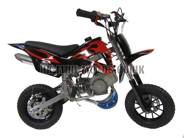 Mini Dirt Bike Mini Dirt Bike Db02 Black Red Mini Dirt Bike