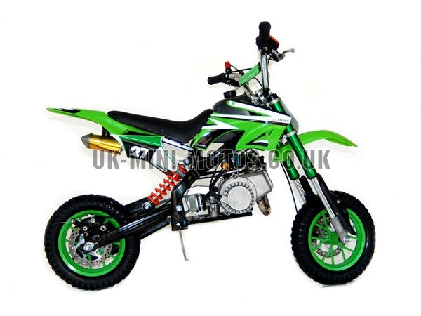 mini dirt bike mini dirt bike db02c green mini dirt bike. Black Bedroom Furniture Sets. Home Design Ideas