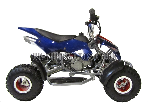 mini quad bikes mini quad bike blue mini moto quad. Black Bedroom Furniture Sets. Home Design Ideas
