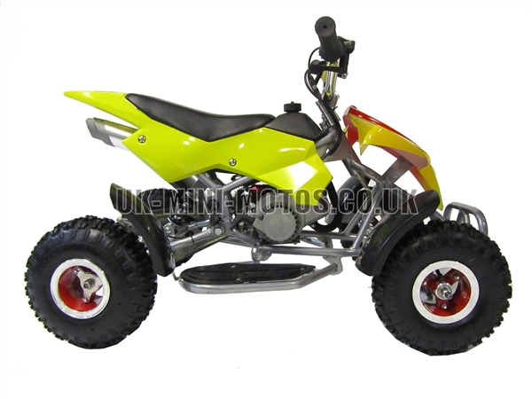 mini quad bikes mini quad bike yellow mini moto quad. Black Bedroom Furniture Sets. Home Design Ideas