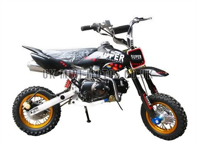 Dirt Bikes - Pit Bikes - 110cc Black - Dream Dirt Bike