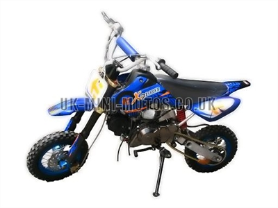 Dirt Bikes - Pit Bikes - 110cc Blue - Dream Dirt Bike