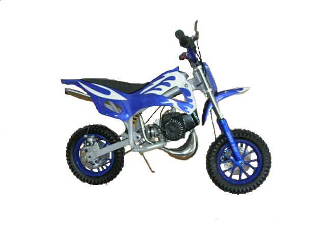Mini Dirt Bike - Mini Dirt Bike Blue - Mini Dirt Bike