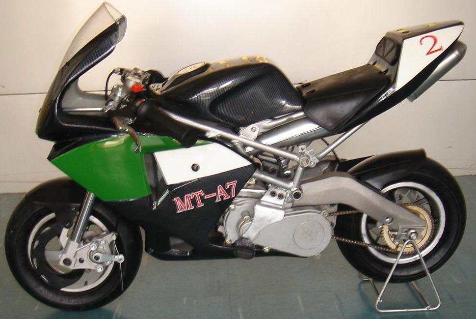 mini motos green minimoto mini motos pocket bikes. Black Bedroom Furniture Sets. Home Design Ideas