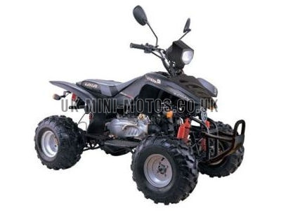 Road Legal Quad Bikes for Sale - 150cc Quad Black - Road Legal Quads