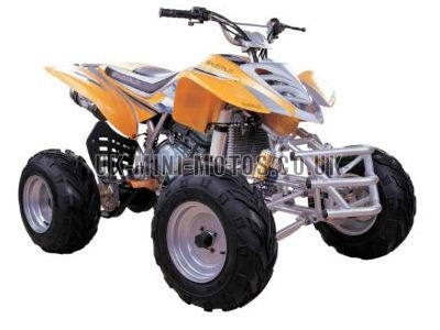 Road Legal Quad Bikes for Sale - 200cc Quad Orange - Road Legal Quads