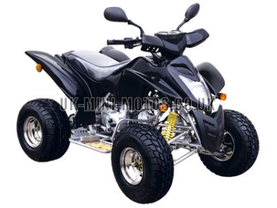 Road Legal Quad Bikes for Sale - 110cc Quad Black - Road Legal Quads