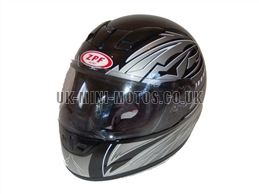 Helmets Black - Adult and Kids Helmets Black - Motorcycle Helmets Black - Crash Helmets Black - Motorbike Helmets Black