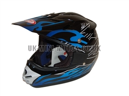 Motorcross Helmets Black - Adult and Kids Motorcross Helmets Black - Motorcycle Helmets Black - Crash Helmets Black - Motorbike Helmets Black