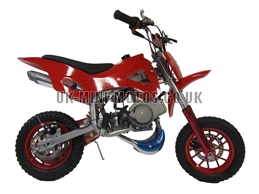 Mini Dirt Bike - DB02 Red Mini dirtbike - Mini Dirt Bikes  - Pocket Bikes - Minimotos - Mini Moto