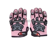 Motorbike Gloves Pink - Adult and Kids Motorbike Gloves - Motorcross Gloves - Pink Motorcycle Gloves - Trials Gloves