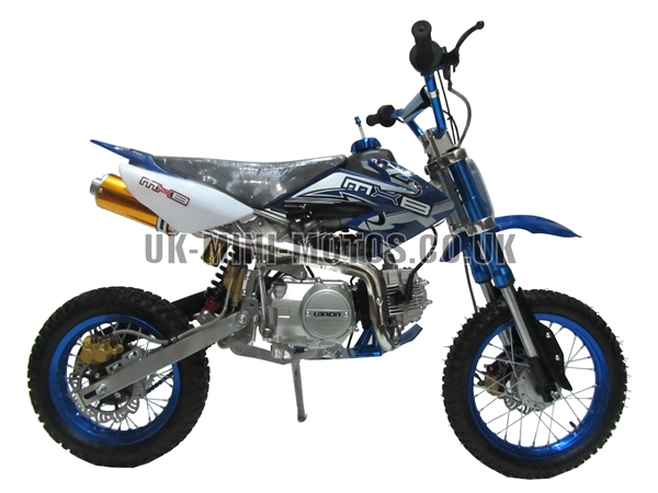 dirt bikes pit bikes dirtbikes 125cc dirt bike blue. Black Bedroom Furniture Sets. Home Design Ideas
